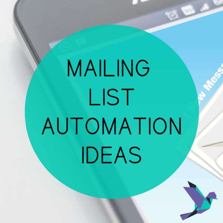 Mailing List Automation Ideas